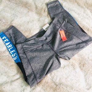 "🆕 ""Fearless"" Gray leggings"